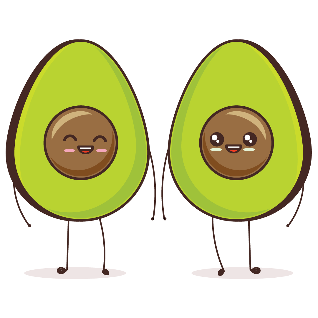 Twin Avocados